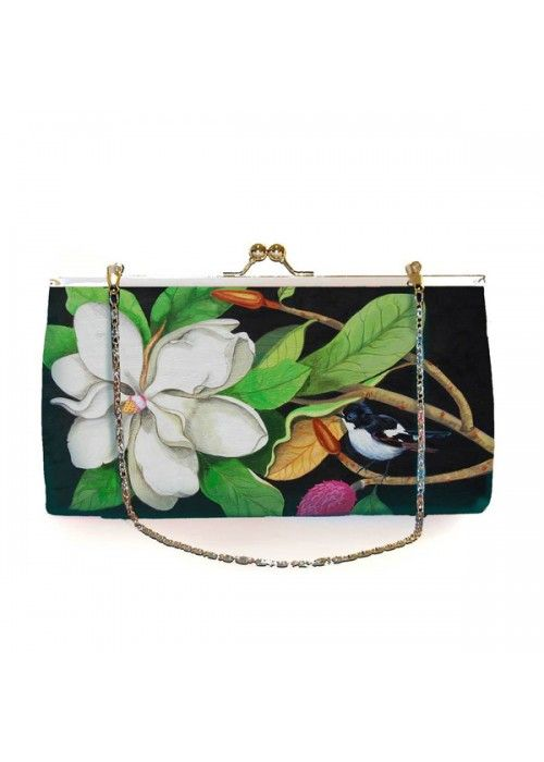 Woody Ellen Miss White Clutch
