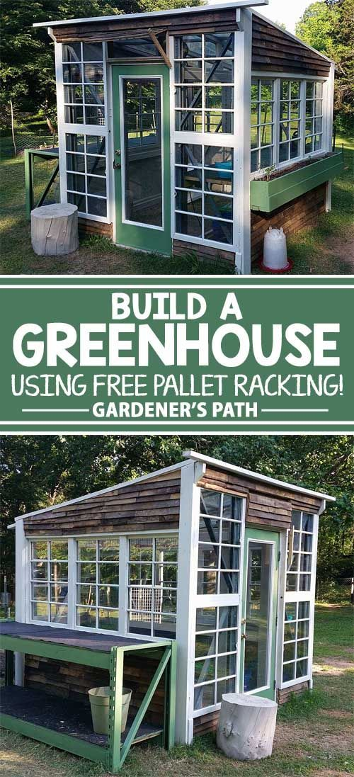Do you want a greenhouse but don't want to spend a whole lot? If so, check out this great build now. Free pallet racks and other repurposed materials make this one cheap build!