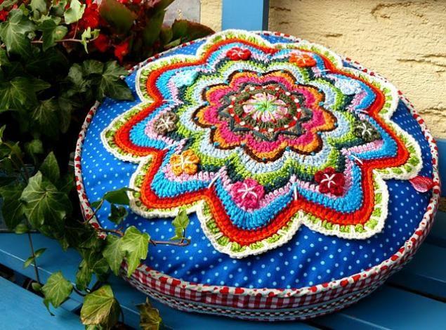 Вязанные подушки или торты? - Ярмарка Мастеров - ручная работа, handmade