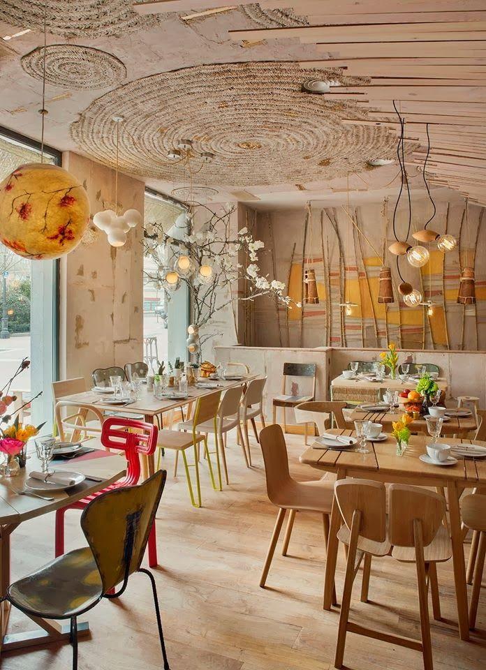 Lila and Cloe: MAMA CAMPO restaurante y tienda de productos ecológicos en Madrid