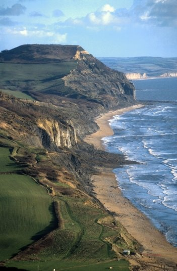 Stonebarrow slip, West Dorset on the Jurassic Coast, UK. oh so ideal. uuggghh…