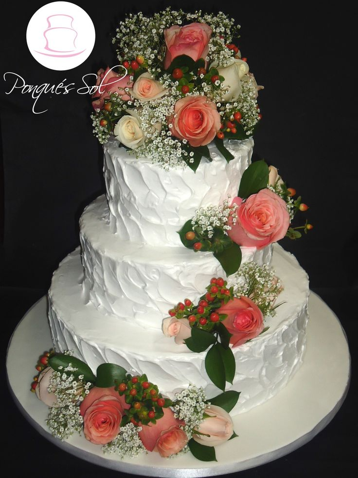 Super Torta en crema de matrimonio/ The best wedding cake