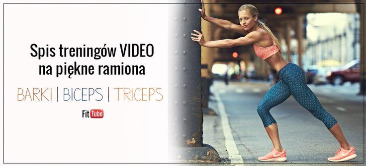 Spis treningów VIDEO na piękne ramiona