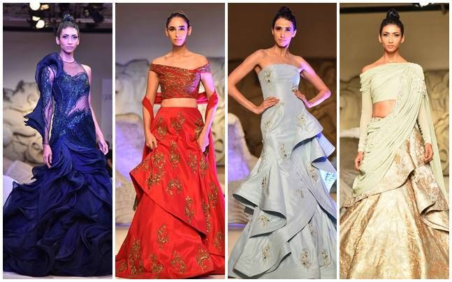 ICW 2016: Saiyami Kher's scintillating ramp debut for designer Gaurav Gupta : Fashion, News - India Today