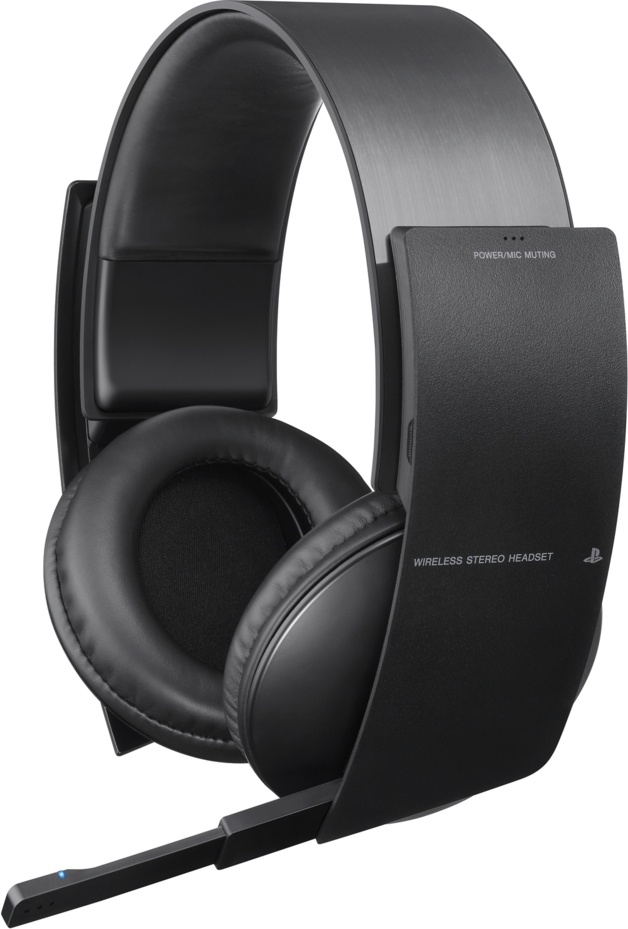 Wireless Stereo Headset by Sony, you can hear so much better with these babies..