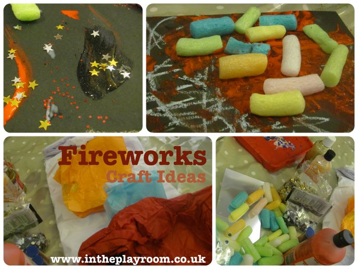 Fireworks Craft Ideas - In The Playroom