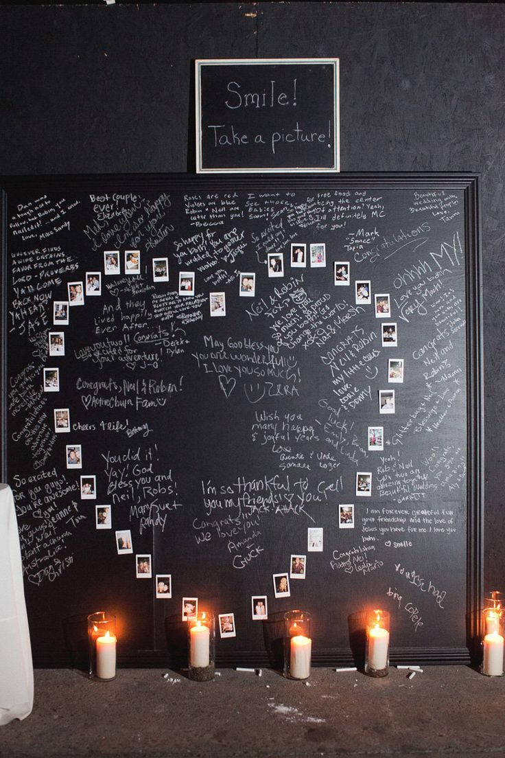 Guestbook-What a great idea for wedding or family reunions: