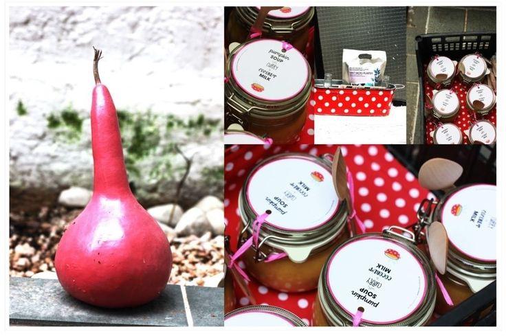 ♥ DIY: {curry pumpkin soup & packaging}