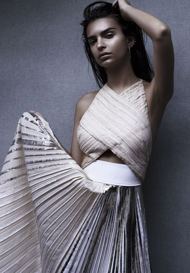 Emily Ratajkowski in S Moda Shoot