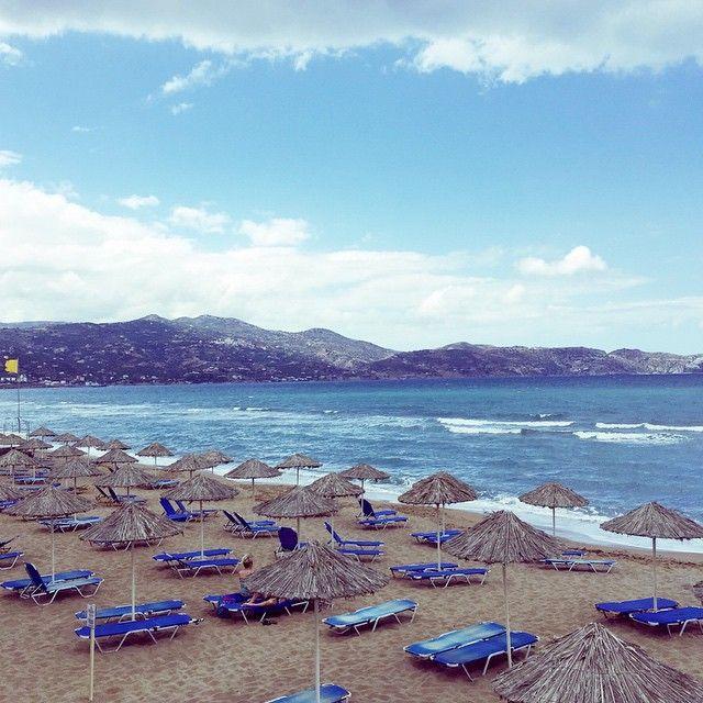 Ammoudara #beach #CretaBeach #Crete Photo credits: @manon_loves