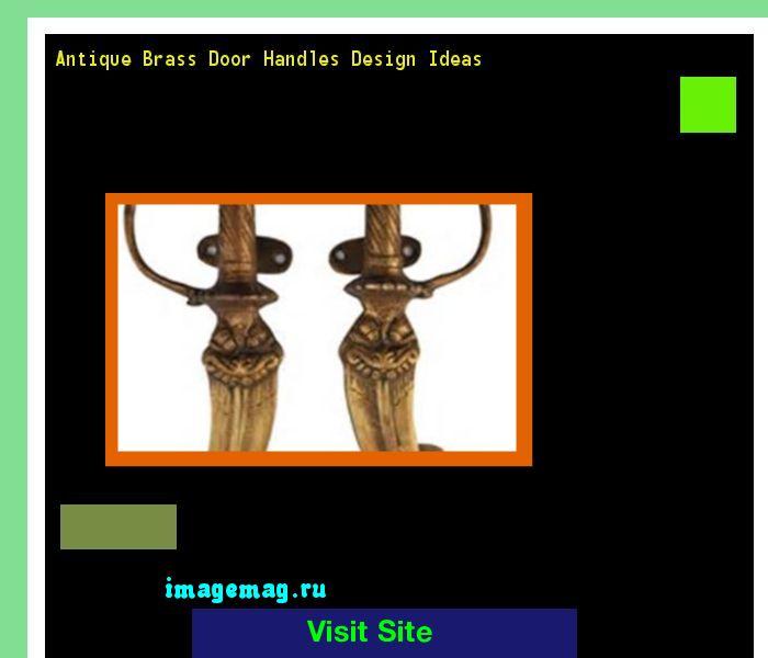 Antique Brass Door Handles Design Ideas 102108 - The Best Image Search