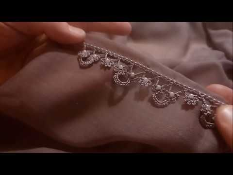 Pearl flower and bridged crochet lace model YouTube – YouTube