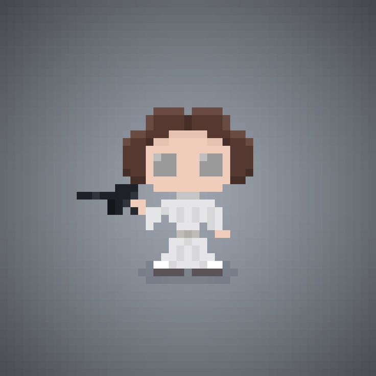 May The Fourth Be With You Cartoon: 61 Best Small Pixel Art Images On Pinterest