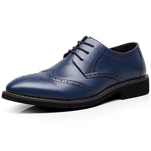 Oferta: 70€ Dto: -53%. Comprar Ofertas de Shenn Estilo Británico Hombres Elegante Dedo Puntiagudo Oxfords Comodidad Cuero Sintético Acento Irlandés Zapatos De Vestir A barato. ¡Mira las ofertas!
