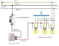 Esquemas eléctricos: Esquema encendido con interruptor