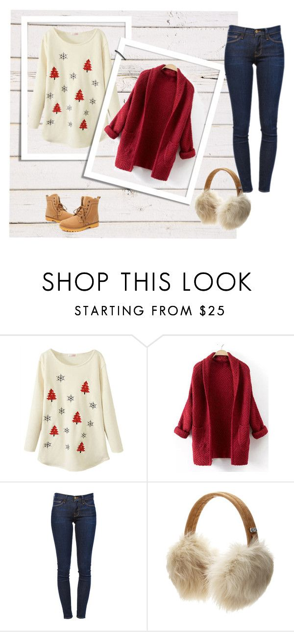 """look new year"" by baby-jam on Polyvore featuring мода, Frame Denim и UGG Australia"