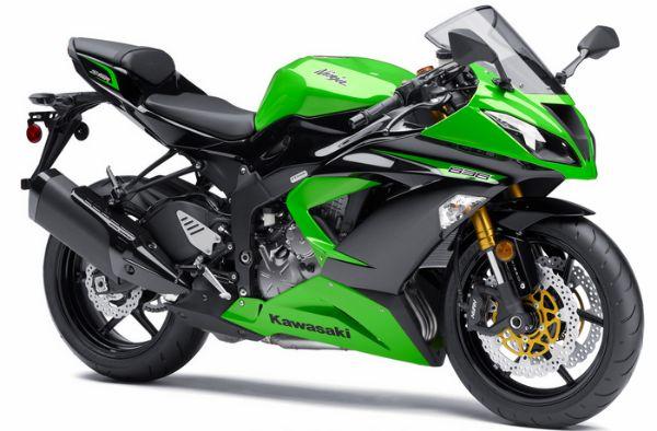 2013 Kawasaki Ninja ZX 600R Motorcycle