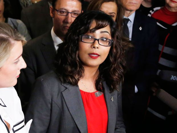 """Liberal MP Iqra Khalid said she is unwilling to """"water down"""" her motion condemning """"Islamophobia."""" -- Unhappy with anti-Islamophobia motion, Tories have their own condemning religious intolerance http://news.nationalpost.com/news/canada/canadian-politics/rather-than-condemn-islamophobia-tories-would-condemn-all-religious-intolerance-and-racism via @nationalpost"""