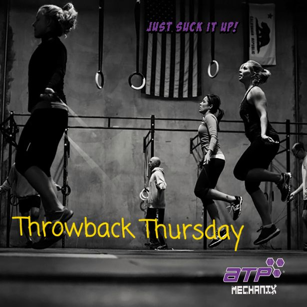 #Throwback Thursday  Greg Glassman an 18 year old college student gymnast, & CFfounder, took his first training job at the Pasadena Y.   @ATPmechanix