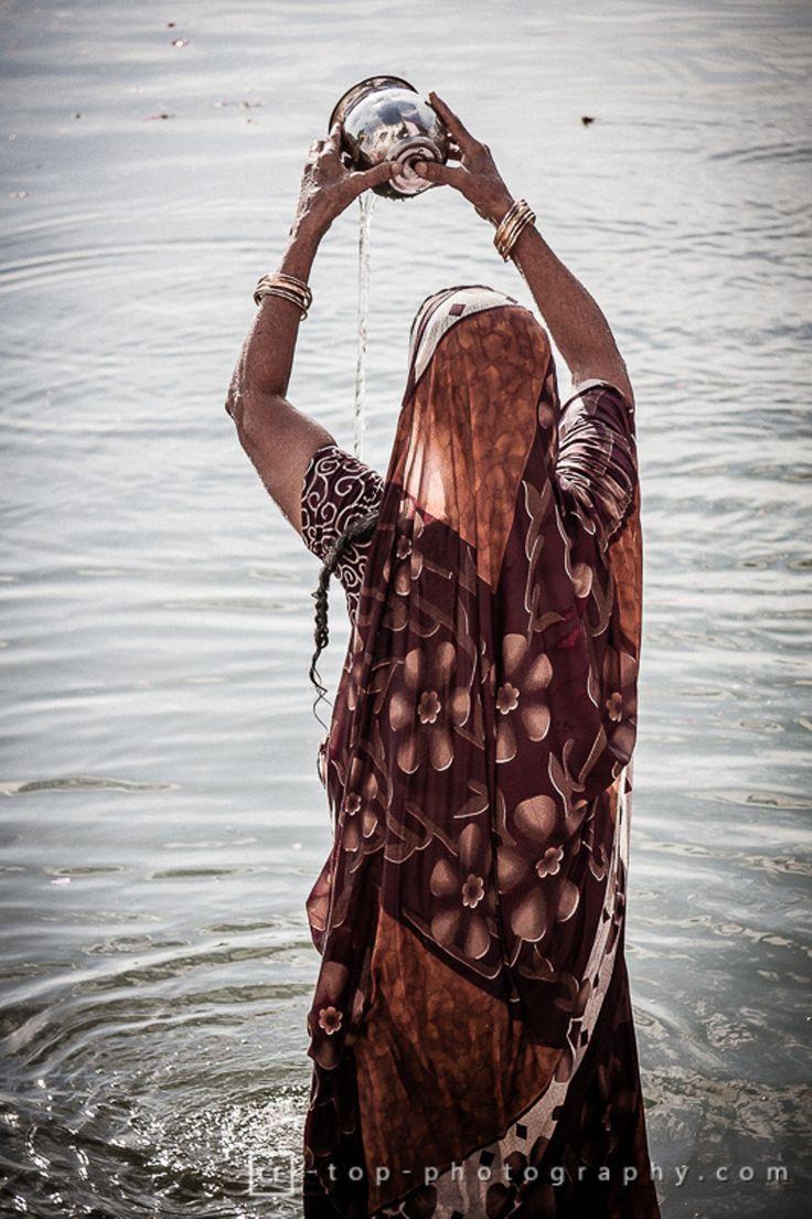 Faith - Pushkar Lake, India