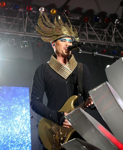 Luke Steele Musician Luke Steele of Empire of the Sun performs during the 2014 Governors Ball Music Festival at Randall's Island on June 8, ...
