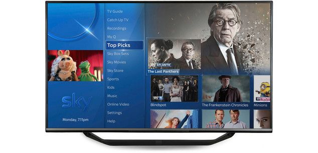 Sky Q boxes now standard across all Sky TV packages
