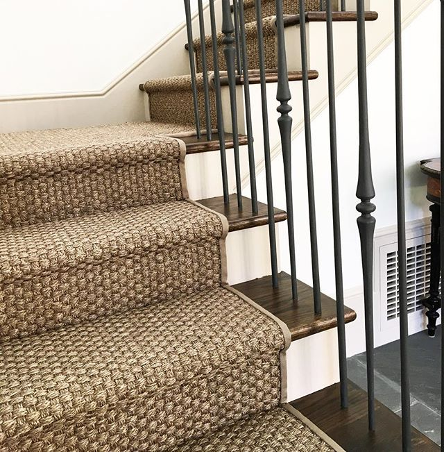 Loving This Sisal Stair Runner That We Installed In A Client S