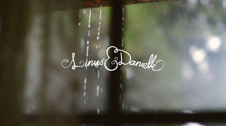 linus+danielle • rainy barn wedding ||| Sweetest darn video. Such a lovely couple :)