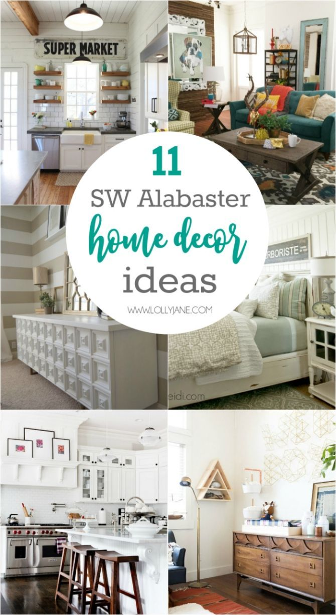 61 best Sherwin-Williams Alabaster images on Pinterest | Spaces ...