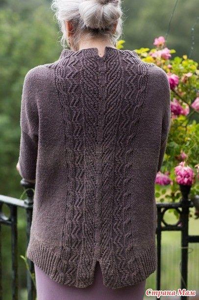 Шикарный пуловер Tevara от Paula Pereira