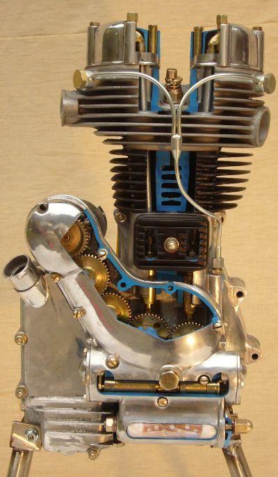 Royal Enfield Bullet Engine-Cutaway, Royal Enfield Bullet 350 ...