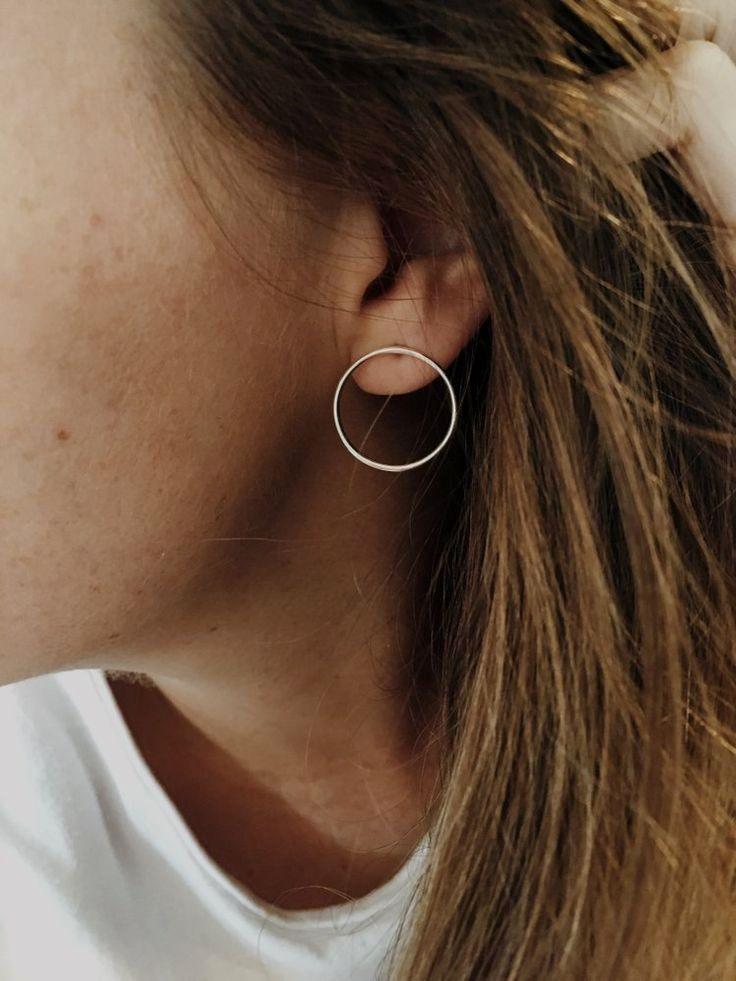 Earrings, Ears, Stud Earrings, Ear Cuff, Studs, Gold, Silver, Piercing, Sterling Silver, Hoop Earrings