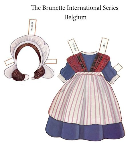 Paper Dolls ~ The Brunette International - Bonnie Jones - Picasa-webalbums