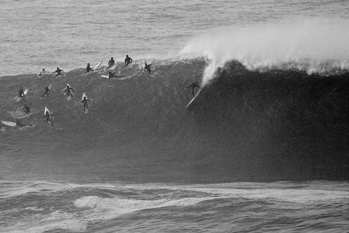 World Surf League -  Tom Lowe at #Mavericks -  Driftwood Photography Studios