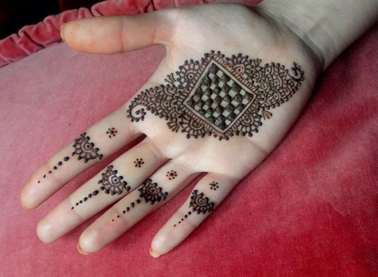 Beautiful henna mehndi