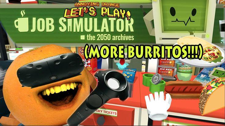 #VR #VRGames #Drone #Gaming Annoying Orange - JOB SIMULATOR (More Burritos!!!) animation, annoying orange, annoying orange gaming, annoying orange pear extreme gamer, ao gaming, cartoon, comedy, daneboe, fruit, Funny, gaming grape, Job Simulator, Little Apple Army, Midget Appe Gaming, More Burritos, simulator, talking, The Annoying Orange, Video Games, virtual reality, VR, vr videos #Animation #AnnoyingOrange #AnnoyingOrangeGaming #AnnoyingOrangePearExtremeGamer #AoGaming #