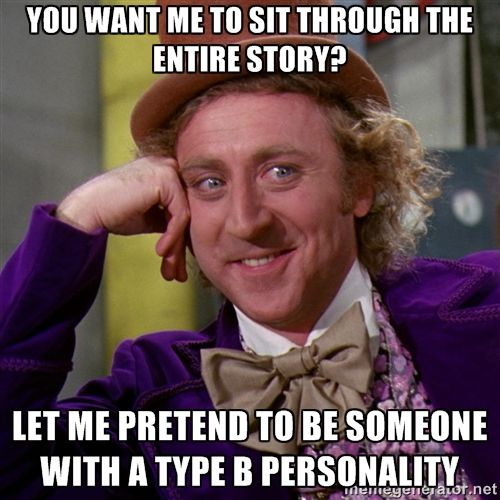 Original - Type A (impatient) and Type B (easygoing) Personalities - Unit 8B