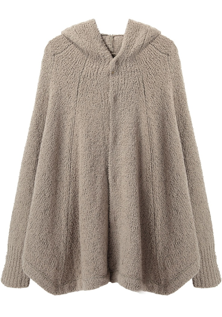 Hooded Cape Knitting Pattern : Rachel Comey Compass Dress Ponchos
