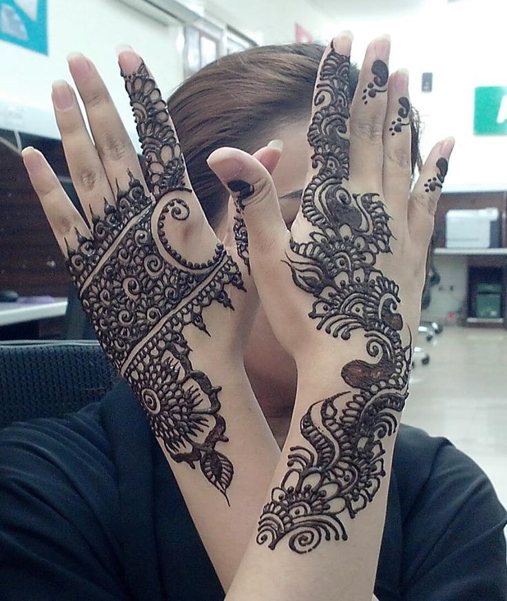 Pakistani And Indian Traditional mehndi style,s (6)