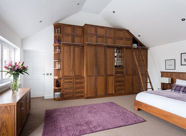 Beautiful Walnut Bedroom Furniture - Neville Johnson