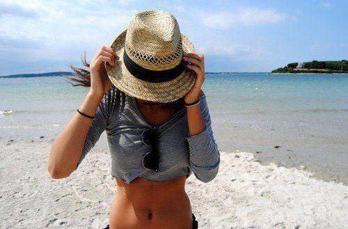 Fedora + White Sand Beaches = love
