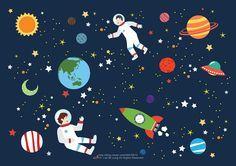우주 - 디지털 아트 · 일러스트레이션, 디지털 아트, 일러스트레이션, 일러스트레이션