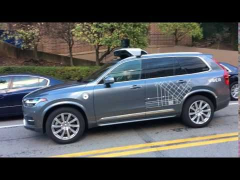 Uber's new self-driving Volvo SUVs have been spotted in Pittsburgh - The Verge