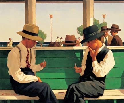 Jack Vettriano ~ The Duellists