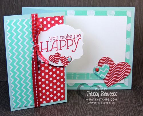 Fresh Prints Paper stack side fold quick and easy card ...
