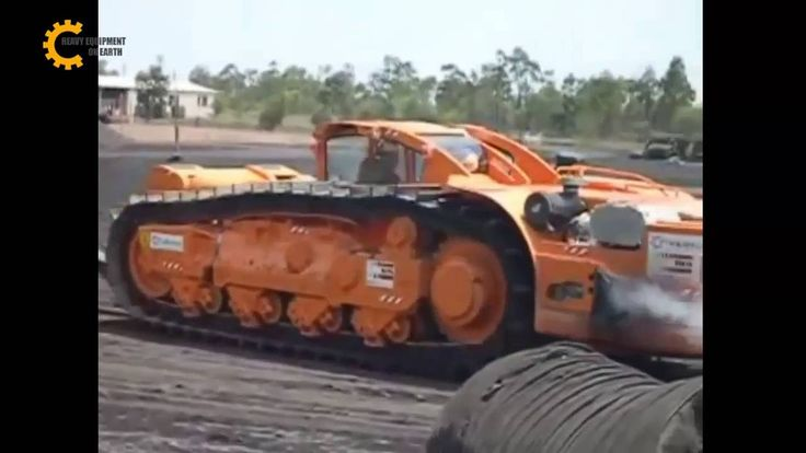 Amazing agriculture machinery, extreme condition tractor