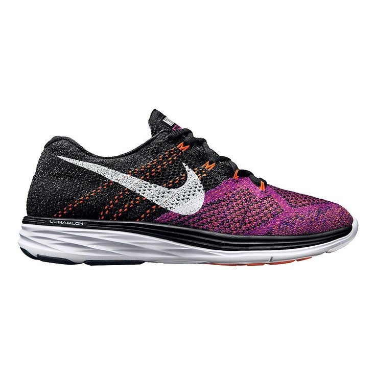 san francisco 8d40b 4ffee ... Elite Femmes Gris Violet Blanc Break the tape on your 2015 training  season with the newly updated Womens Nike Flyknit Lunar ...
