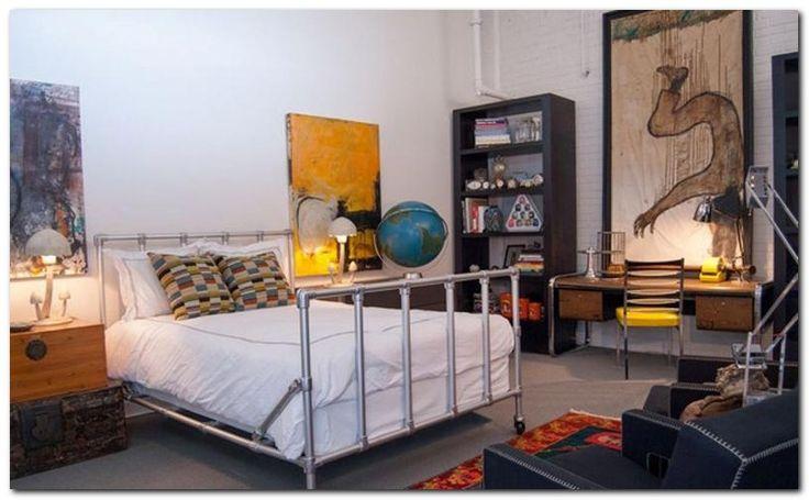 Industrial Bedroom Design Ideas Endearing Design Decoration