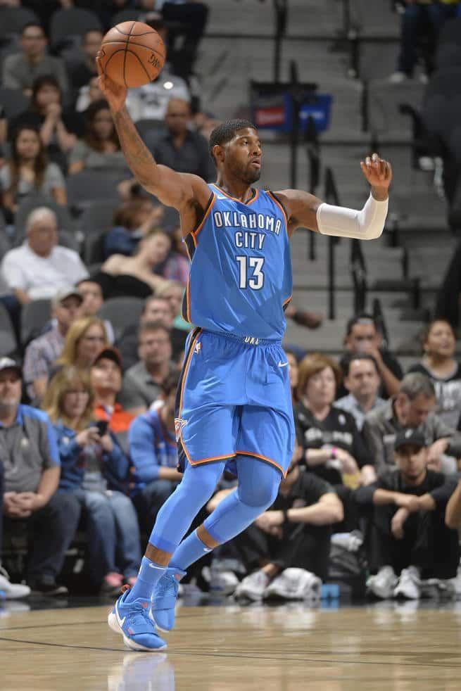 #WeAreThunder: Oklahoma City Thunder v San Antonio Spurs