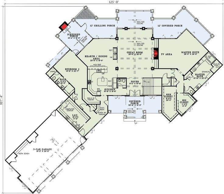 5690 Best Floor Plans Images On Pinterest Architecture